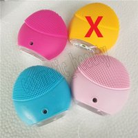 Wholesale sonic skin care brush for sale - Group buy New cleansing instrument Facial Cleansing Brush Sonic Cleansing Face Skin Cleaning Silicone Waterproof Skin Care Tools Accessories colors
