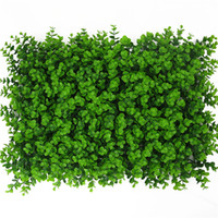 Wholesale fake grass turf for sale - Group buy 40x60cm Artificial Landscape Turf Simulation Plants Fake Lawn Landscaping Wall grass mat green artificial lawns for Wedding home