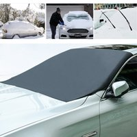 Wholesale car edge guards resale online - Frost Car Windshield Magnetic Edges Car Snow Cover Frost Guard Protector Sun Shade Cover