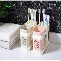 boîte à dentifrice achat en gros de-Couple porte-brosse à dents ménage lavage mis créatif bain de bouche dentifrice boîte dentifrice