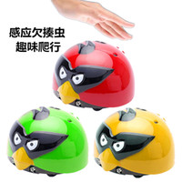 Wholesale remote control birds for sale - Group buy Best selling crawling bird luminous induction batting insect toys remote control car children s gifts
