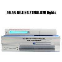 diodos de luz led cuadrados al por mayor-LED ultravioleta germicida de la lámpara, UVC germicida ultravioleta esterilización por luz Inicio desinfección con luz inicio Mejora 10MW Inicio Luz