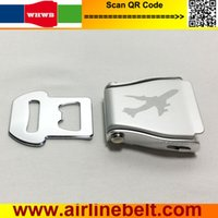 Wholesale airplane diy for sale - Group buy New airplane buckle aircraft aviation seat belt buckles for DIY home textile belt bag all