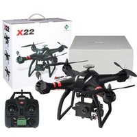 camara quadcopter gps al por mayor-Droneeye XY-X22 FPV RC Drone con 1080P HD cámara GPS WIFI Quadcopter sin escobillas