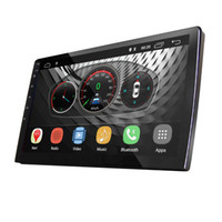 Wholesale universal car double din stereo for sale - Group buy UGAR inch Universal Extended Car DVD Android Head Unit DDR GB Double Din Car Audio Indash GPS Navigation with Bluetooth WiFi