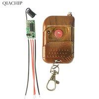 module de relais unique achat en gros de-Commutateur de télécommande sans fil RF Émetteur + Module relais récepteur Commutateur de télécommande à sens unique