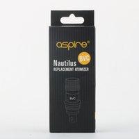 nautilus yedek bobinler toptan satış-Nautilus BVC bobin 1.8ohm 1.6ohm 0.7ohm Nautilus Mini için Yedek Atomizer / Nautilus / Nautilus 2 Buhar 20 adet / grup