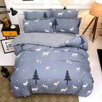 новые текстильные листы оптовых-Winter Solstice Home Textile Bedding Bed Sheet Bed Pillowcase Set Four-piece Comfortable Warm Quilt 2018 New