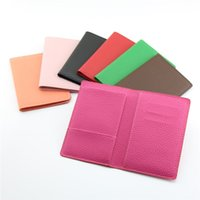 Wholesale documents cover resale online - Hot Gift Passport Cover Multi function Protection Clamp Airline Ticket Protection Bag Travel Document Protection Bag T3D5002