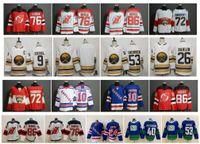 diabos jersey elias venda por atacado-NHL Buffalo Sabres Jersey New Jersey Devils New York Rangers PK Subban Jack Eichel Jeff Skinner Elias Pettersson Bo Horvat Bobrovsky Hóquei