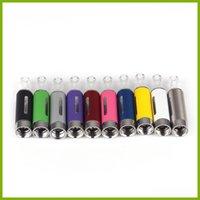 evod atomizer untere spule großhandel-MT3 Zerstäuber Elektronische Cigarettes2.4ml E-Zigarette Vape Pen Bottom Coil Abnehmbarer EVOD MT3 Tank für EGO EVOD Batterien E Cig DHL frei
