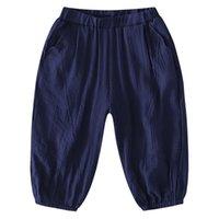 sonic new years achat en gros de-Casual Toddler Baby Kids Boy Vêtements Pantalons en coton Panty Sarouels Pantalons Casual Pantalons Vêtements Garçons 7