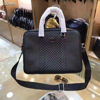 Wholesale fashion business briefcase for sale - Group buy Pink sugao Mens Briefcase Gbrand Business Bags genuine Leather Mens Shoulder Bag tote men Crossbody Bag Messenger bag for work