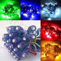Wholesale green christmas string lights resale online - 5V V LED Pixel Module String Point Light F5 mm Fairy IP66 Waterproof Exposed Outdoor for Letter Sign