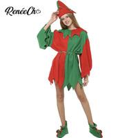 9fde10f88 Disfraces de Navidad para adultos cosplay Mujer de Navidad Disfraces  Disfraces Año Nuevo Cosplay Mujeres Elf Vestido de disfraces