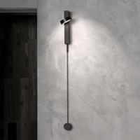nordic wandleuchte großhandel-Nordic moderne wandleuchte luxus dimmbar schalter einfache wohnzimmer gang korridor schlafzimmer kreative persönlichkeit nachtwandleuchte