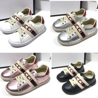 Wholesale eva children casual shoes resale online - Fashion Kids Flats shoes Leather Waterproof Children toddler Casual trainers boy girl Skateboard sneakers