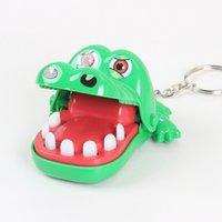 dentista de brinquedo venda por atacado-Boca de crocodilo Dentista Dente Mordida Jogo Dedo Novidade e Mordaça Brinquedos Engraçados para Crianças e Adultos