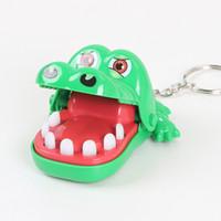 juguetes para la boca al por mayor-Crocodile Mouth Tooth Dentist Bite Finger Game Novedad y mordaza Juguetes divertidos para niños y adultos