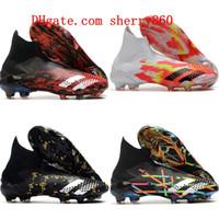 Wholesale football shoes quality resale online - 2020 top quality mens boys soccer shoes Predator Mutator FG women children football boots botas de futbol tic size