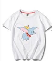 Wholesale casuals clothing for men for sale - Mens Designer Tshirts Dumbo Flying Elephant Tshirts for Mens Clothing Cute Teenager Clothes