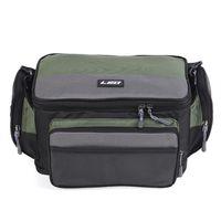 Wholesale lures 17cm resale online - LEO Fishing Bag cm Outdoor Fishing Tackle Bag Pack oxford fabric waterproof Reel Lure Storage Shoulder
