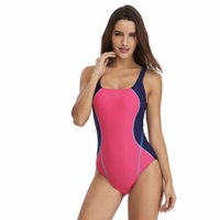 1db6072c4b43b 2019 Sport One Piece Swimsuit Competitive Swimwear Women Swimming Suits for  Women Patchwork Bathing Suits Beachwear 39