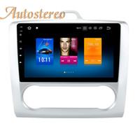 gps-pads großhandel-DSP Android9 4 + 64 Auto GPS-Navigation Für Ford Focus 2004-2011 kein DVD-Player Auto Stereo Multimedia-Kopfeinheit PAD Kassettenrekorder