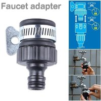 hose quick connector بالجملة-Connector New Garden Hose Tabe Tap Tapp Connector Kitchen Bath Faucet Faucet Adapter Quick Connect Garden Outdoor Supplies Faucet