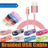 Wholesale cell phones seller for sale – best Best seller Cell Phone Cables m braided High Speed micro Type C USB Cable Nylon Braided data cable Metal Charger data cable