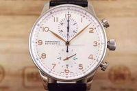 спортивный португальский оптовых-Новые роскошные мужские часы IW 371446 Portugal 7 серии пилота Механические автоматические военные наручные часы многофункционального качества, спортивные часы