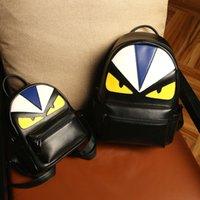çocuklar için kaliteli okul çantaları toptan satış-Moda Marka Sırt Çantası Küçük Canavar Tasarımcı Sırt Çantası Kadın Erkek Seyahat Sırt Çantaları Moda Erkek Öğrenci Okul Çantaları Spor Çanta Yüksek Kalite