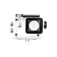 sjcam fall großhandel-Kamera-Zubehör Unterwassergehäuse mit USB-Kabel Ladegerät Abdeckung für SJCAM Sj4000 Sj7000 Sj9000 VM-Dropshipping