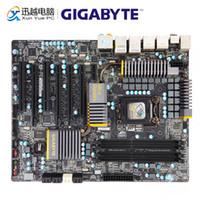 Wholesale gigabyte motherboard i3 resale online - Gigabyte GA P67A UD7 B3 Desktop Motherboard P67A UD7 B3 P67 LGA Core i7 i5 i3 DDR3 G SATA3 USB3 E Sata IEEE1394 ATX