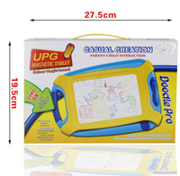 Wholesale toy plastic writing board for sale - Magnetic Drawing Board Toy and Sketch Erasable Pad Writing Kids Toddler Boy Girl Painting Learning Birthday Gift GGA1170