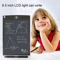 ingrosso vernice lcd-2 PZ 8,5 pollici Istruzione precoce Pittura Tavolo da disegno LCD Scrittura bordo memo Red Tablet Office bambini regalo facile scrittura