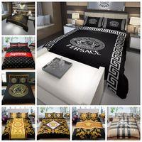 ingrosso vendite della regina-Luxury Bedding Set King Size vendita di modo classico Copripiumino Regina High End completa Doppia Singola Doppia Soft Cover Comfortable Bed
