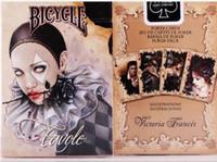 14g ton pokerchips großhandel-Sammlung Poker Favole Gothic Victoria Französisch Vampire Spielkarte 63 * 17 * 88 (mm) 100G Qualitätswaren