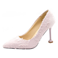 Wholesale fresh slip shoes online - Designer Dress Shoes Simple wild small fresh high heels new personality tassel pointed shallow mouth stiletto single fashion women s