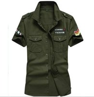 df575d3aa3ec M-6XL Big Size Mens Summer Cargo Shirts Mens Outfit With Pockets Shirt  Female Cool US Style Wear