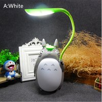 Wholesale flexible readers for sale - Group buy Yctech usb gadgets Cartoon Kawaii Totoro Usb Light Novelty Lightings Bright Flexible For Bedside Readers Children PC Computer