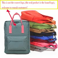 Wholesale junior backpacks for sale - Group buy Swedish young student schoolbag girl backpack style designer new fashion junior high school canvas brand female bag