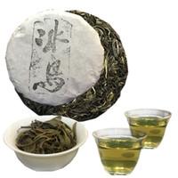 yunnan pu er tea al por mayor-Chino Yunnan Pu'er Pastel de té crudo Islandés Sheng Cha Premium Pu-erh Cuidado sano Comida verde 100g