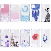 Wholesale samsung case for girls online – custom Marble Girl Dandelion Butterfly Tower Skin Flower Cartoon Soft TPU case for iphone pro MAX XS MAX XR PLUS Samsung S20 PLUS A51 A71