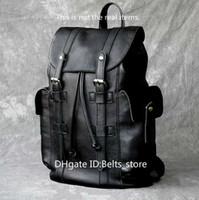 bolsa grande de equipaje negro al por mayor-Moda bolsas de viaje Diseñador lujo de nueva mochila de mano de gran capacidad, los hombres de hombro del embarque de equipaje Viajar Negro Mochilas