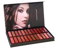 Wholesale good quality matte lipsticks resale online - NEW Hot makeup Brand Beauty set Matte Lipstick Set colors Lipkit High quality DHL shipping good quality