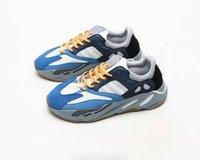 ingrosso qualità dell'ospedale-(Con scatola) Scarpe da corsa blu di alta qualità 700 Teal Uomo Donna Sneaker blu dell'ospedale di moda