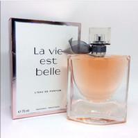 perfumes desodorantes venda por atacado-Mulheres perfume fragrâncias 75 ml desodorante duradoura fragrância saudável EDP Parfum Eau de Toilette incenso perfume para a senhora presentes frete grátis