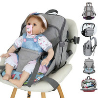 Wholesale mama diaper bag for sale - Group buy USB Baby Diaper Bag Mummy Maternity Nappy Bag Mama Travel Backpack Waterproof Baby Nappy Stroller Handbag Care