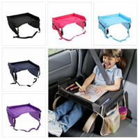 Wholesale infant toddler harness for sale - Group buy 5styles Baby Folding Table Cover Snack Play Tray Toddlers Car Seat Cover Waterproof Infant Table Cover Harness By snack Pushchair FFA1923